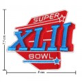 Super Bowl XLII 2007 Style-42 Embroidered Iron On Patch