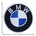 BMW Motorsport Style-2 Embroidered Iron On Patch