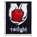 Twilight Book Series Style-2 Embroidered Iron On Patch