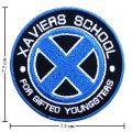 X-Men Xaviers School Style-2 Embroidered Iron On Patch