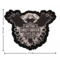 Harley Davidson Crest Patches Embroidered Iron On Patch