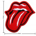 Rolling Stone Music Band Style-1 Embroidered Iron On Patch