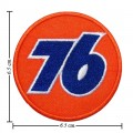76 Oil Style-1 Embroidered Iron On Patch