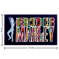 Bob Marley A Reggae Ska Band Style-10 Embroidered Iron On Patch
