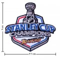 Anaheim Mighty Ducks Stanley Cup Style-1 Embroidered Iron On Patch