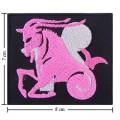 Roman Zodiac Capricorn Embroidered Iron On Patch