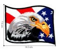 American Flag Style-11 Embroidered Iron On Patch