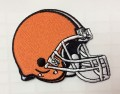 Cleveland Browns Helmet Style-1 Embroidered Iron On Patch