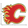 Calgary Flames Style-1 Embroidered Iron On Patch