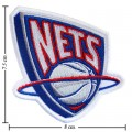 New Jersey Nets Style-1 Embroidered Iron On Patch
