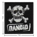 Rancid Music Band Style-1 Embroidered Iron On Patch