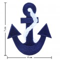 Anchor Style-14 Embroidered Iron On Patch