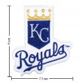 Kansas City Royals Style-1 Embroidered Iron On Patch