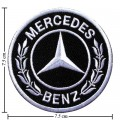 Mercedes Benz Style-2 Embroidered Iron On Patch