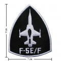 F-5EF Airfoce Embroidered Iron On Patch