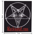 Black Metal Music Band Style-1 Embroidered Iron On Patch