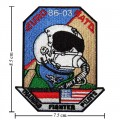 Air Force Training Fighter Pilots Style-1 Embroidered Iron On Patch