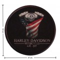 Harley Davidson Justice Patch Embroidered Iron On Patch