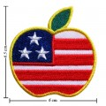Apple New York Style-1 Embroidered Iron On Patch