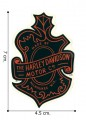 Harley Davidson Motor Embroidered Iron On Patch