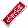 Coca Cola Coke Style-7 Embroidered Iron On Patch