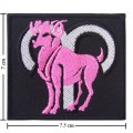 Roman Zodiac Aries Embroidered Iron On Patch