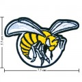 Alabama State Hornets Style-1 Embroidered Iron On Patch