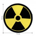Nuclear Radiation Style-2 Embroidered Iron On Patch