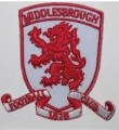 Middlesbrough Style-1 Embroidered Iron On Patch