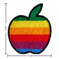 Apple New York Style-2 Embroidered Iron On Patch