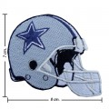 Dallas Cowboys Helmet Style-1 Embroidered Iron On Patch