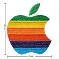 Apple Mac Iphone Style-3 Embroidered Iron On Patch