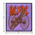 ACDC Music Band Style-2 Embroidered Iron On Patch