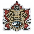 2011 NHL Heritage Classic Embroidered Iron On Patch