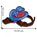Cowboy Hat Style-1 Embroidered Iron On Patch