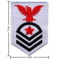 US Army Stripe Style-13 Embroidered Iron On Patch