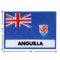 Anguilla Nation Flag Style-2 Embroidered Iron On Patch