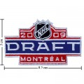 NHL Draft 2008-2009 Embroidered Iron On Patch