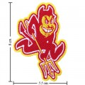 Arizona State Sun Devils Style-1 Embroidered Iron On Patch