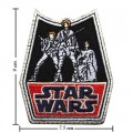 Star Wars Retro Style-1 Embroidered Iron On Patch