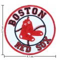 Boston Red Sox Style-2 Embroidered Iron On Patch