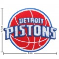 Detroit Pistons Style-1 Embroidered Iron On Patch