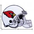 Arizona Cardinals Helmet Style-1 Embroidered Iron On Patch