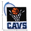 Cleveland Cavaliers Style-2 Embroidered Iron On Patch