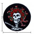 Grateful Dead Music Band Style-1 Embroidered Iron On Patch