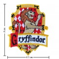 Harry Potter Gryffindor House Style-1 Embroidered Iron On Patch
