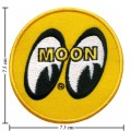 Mooneyes Equipped Style-1 Embroidered Iron On Patch