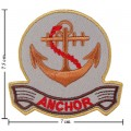 Anchor Style-3 Embroidered Iron On Patch