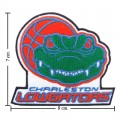 Charleston Lowgators The Past Style-1 Embroidered Iron On Patch