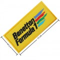 Benetton F1 Racing Style-1 Embroidered Iron On Patch
